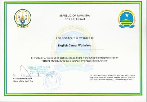 certificate ECW